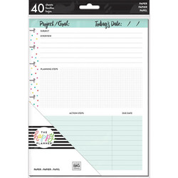 Mambi Happy Planner paperipakkaus, Project