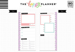Mambi Happy Planner paperipakkaus, Half Sheet Currently