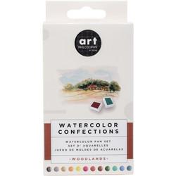 Prima Watercolor Confections, Woodlands, vesivärit