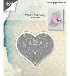Joy! Crafts stanssi Heart Fantasy