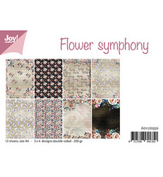 Joy! Crafts paperipakkaus A4 Flower Symphony