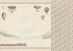 Pion Design The World Awaits skräppipaperi Wanderlust