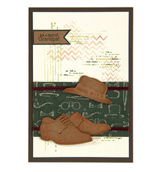 Leane Creatief Men Shoes & Hat -stanssisetti
