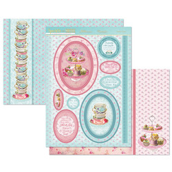 Hunkydory Sparkle & Shine Mirri Magic Luxury Topper -pakkaus, Teatime Treats