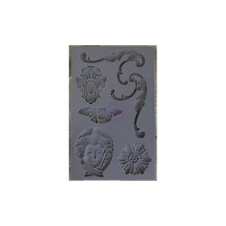 Prima Marketing Iron Orchid Designs Vintage Art Decor Mould -muotti Baroque 1