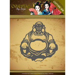 Amy Design Oriental stanssi Happy Buddha