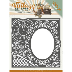 Yvonne Creations Vintage Objects stanssi Endless Times Frame