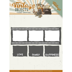 Yvonne Creations Vintage Objects stanssisetti Film Strip