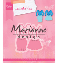 Marianne Design Lady's Suit -stanssisetti