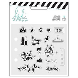 Heidi Swapp Memory Planner leimasinsetti Fresh Start, Everyday