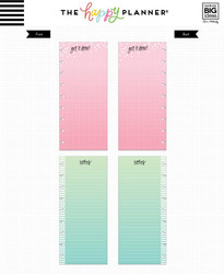 Mambi Happy Planner paperipakkaus, Half Sheet Colored