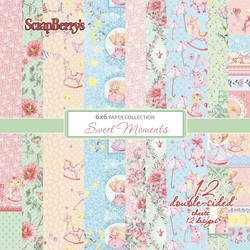ScrapBerry's Sweet Moments -paperipakkaus