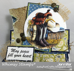Whimsy Stamps Country Style -leimasin