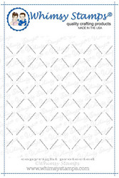 Whimsy Stamps Lattice Background -leimasin
