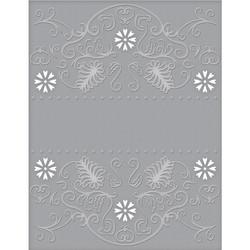 Spellbinders leikkaava kohokuviointikansio Flora Banner