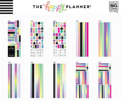 Mambi Happy Planner Washi Sticker Book -tarrapakkaus Magical