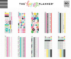 Mambi Happy Planner Washi Sticker Book -tarrapakkaus Bible Journaling