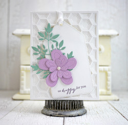 Poppystamps Stitched Bloom Trio -stanssisetti