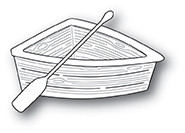 Poppystamps Wooden Rowboat -stanssisetti