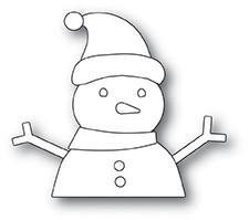Memory Box Build A Snowmen -stanssisetti