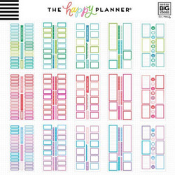 Mambi Happy Planner Value Pack -tarrapakkaus Colorful Boxes