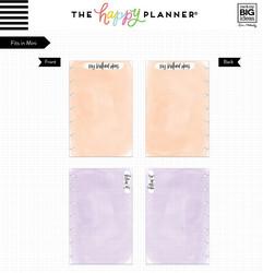 Mambi Happy Mini Planner paperipakkaus, Watercolor