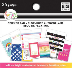 Mambi Happy Planner Tiny -tarrapakkaus Bold and Bright