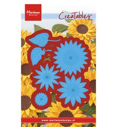 Marianne Design Sunflower -stanssisetti