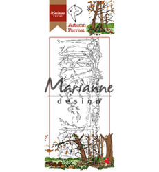 Marianne Design Hetty's Autumn Forest -leimasin