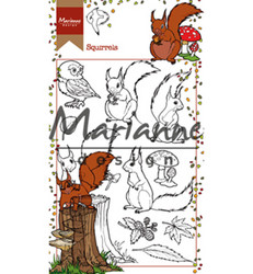 Marianne Design Hetty's Squirrels -leimasinsetti