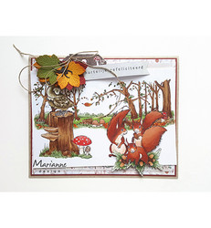 Marianne Design Hetty's Hedgehogs -leimasinsetti