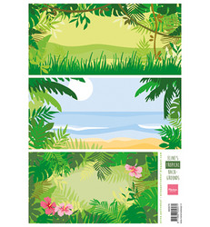Marianne Design Eline's Backgrounds – Tropical