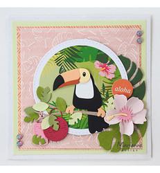 Marianne Design Eline's Backgrounds – Tropical