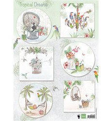 Marianne Design korttikuvat Els Tropical Dreams