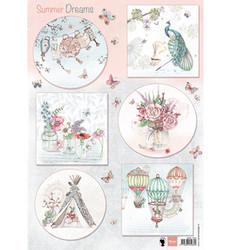 Marianne Design korttikuvat Els Summer Dreams