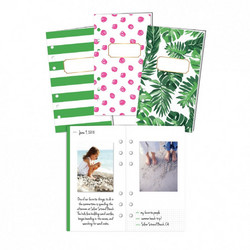 Heidi Swapp Large Memory Planner Storybook -muistikirjat Fresh Start, Tropical