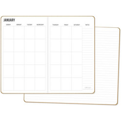 Carpe Diem Traveler's Notebook -muistikirjat Monthly