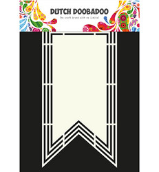 Dutch Doobadoo Shape Art XL Flag -sapluuna