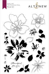 Altenew Floral Art -leimasinsetti