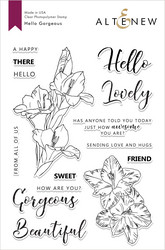Altenew Hello Gorgeous -leimasinsetti