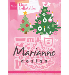 Marianne Design Eline's Christmas Tree -stanssisetti