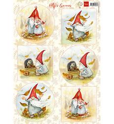Marianne Design Gnomes -korttikuvat, tontut