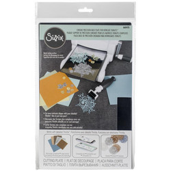 Sizzix Chrome Precision Base Plate For Intricate Thinlits -levy
