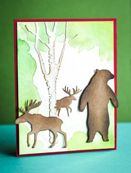 Poppystamps Magnificent Moose -stanssi