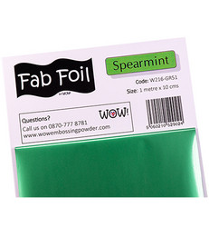 Wow! Fabulous Foil -folio, sävy Spearmint