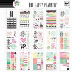 Mambi Happy Planner Value Pack -tarrapakkaus Watercolor