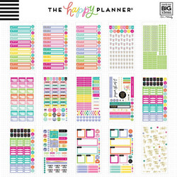 Mambi Happy Planner Value Pack -tarrapakkaus Mom, MINI