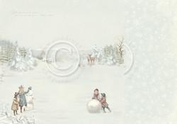 Pion Design Winter Wonderland skräppipaperi Snow Day