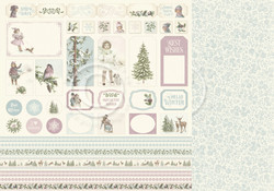 Pion Design Winter Wonderland skräppipaperi Cut Outs