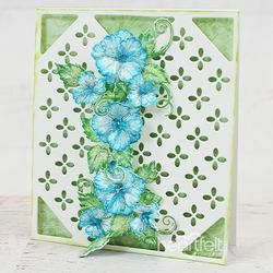 Heartfelt Creations Oakberry Lane Blossoms -leimasinsetti